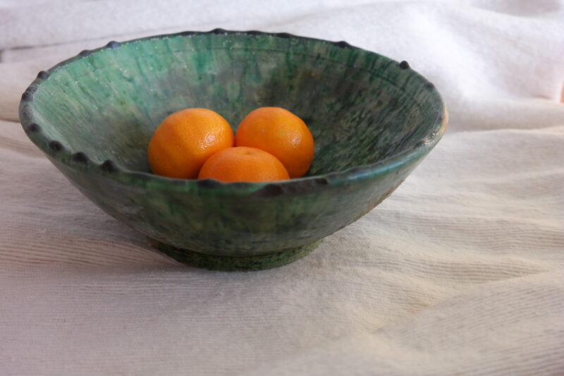 green bowl from Tamegroute