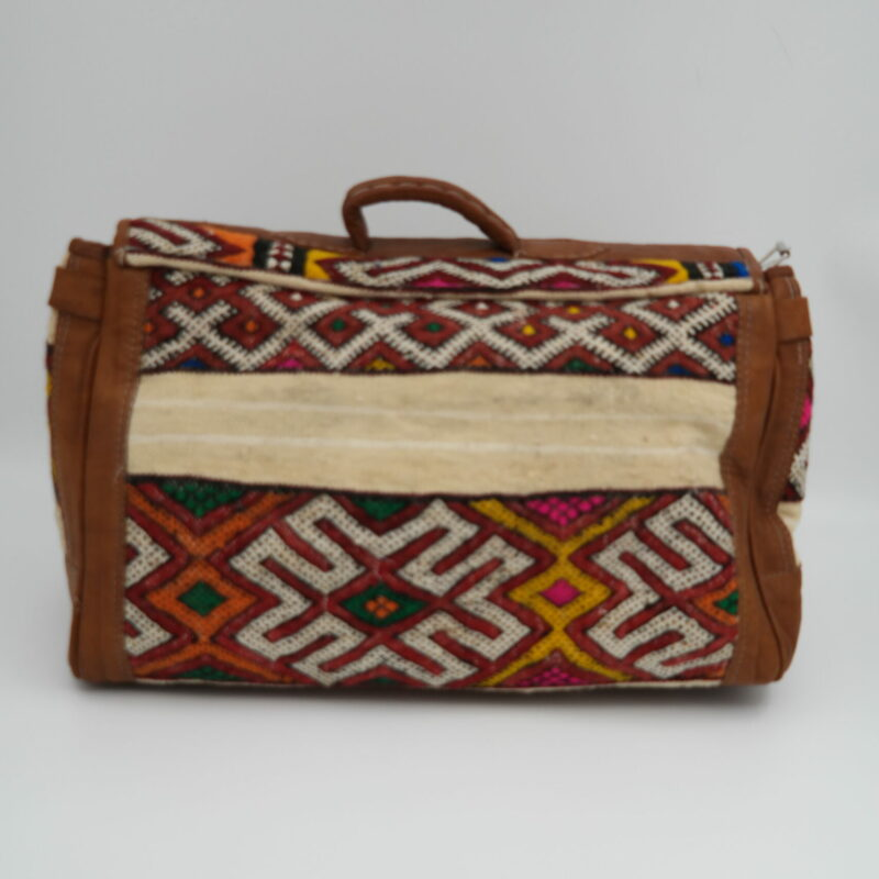 big large bag with kilim - back - HelpLocalwithLove