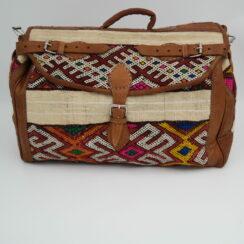 big large bag with kilim - HelpLocalwithLove